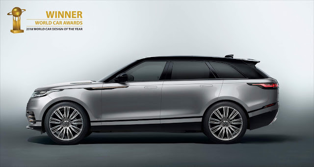 "Range Rover Velar - ""World Car Design of the Year"" 2018"