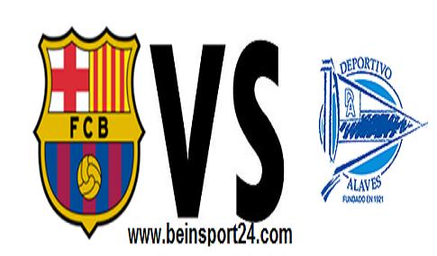 مشاهدة مباراة ألافيس ضد برشلونة بث مباشر
