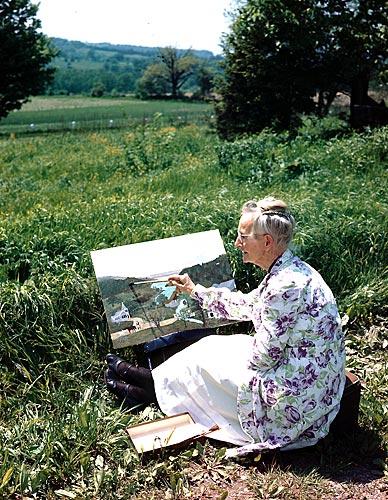 Ressam Anna Mary Robertson Hayatı
