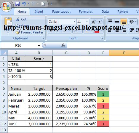 Fungsi if merupakan fungsi yang sering dipakai pada aplikasi ms Fungsi If Dengan Conditional Formatting