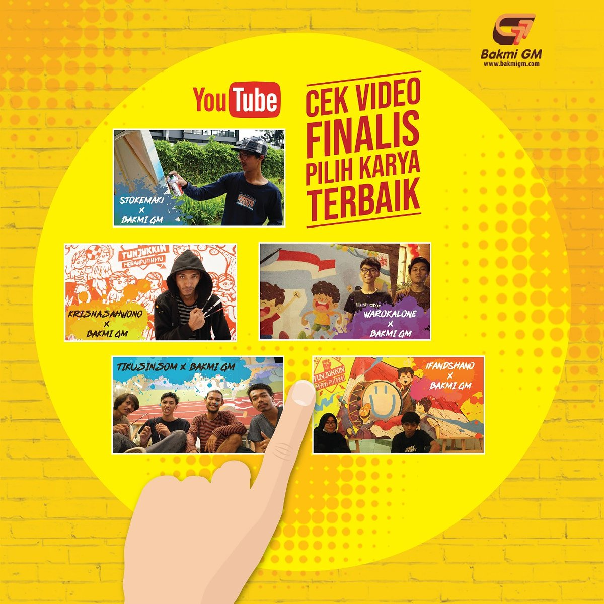 BakmiGM - Promo Vote Free Voucher Ratusan Ribu Rupiah (s.d 9 Okt 2018)