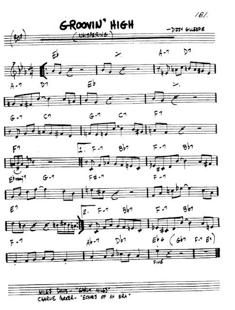 Partitura Flauta Dizzy Gillespie