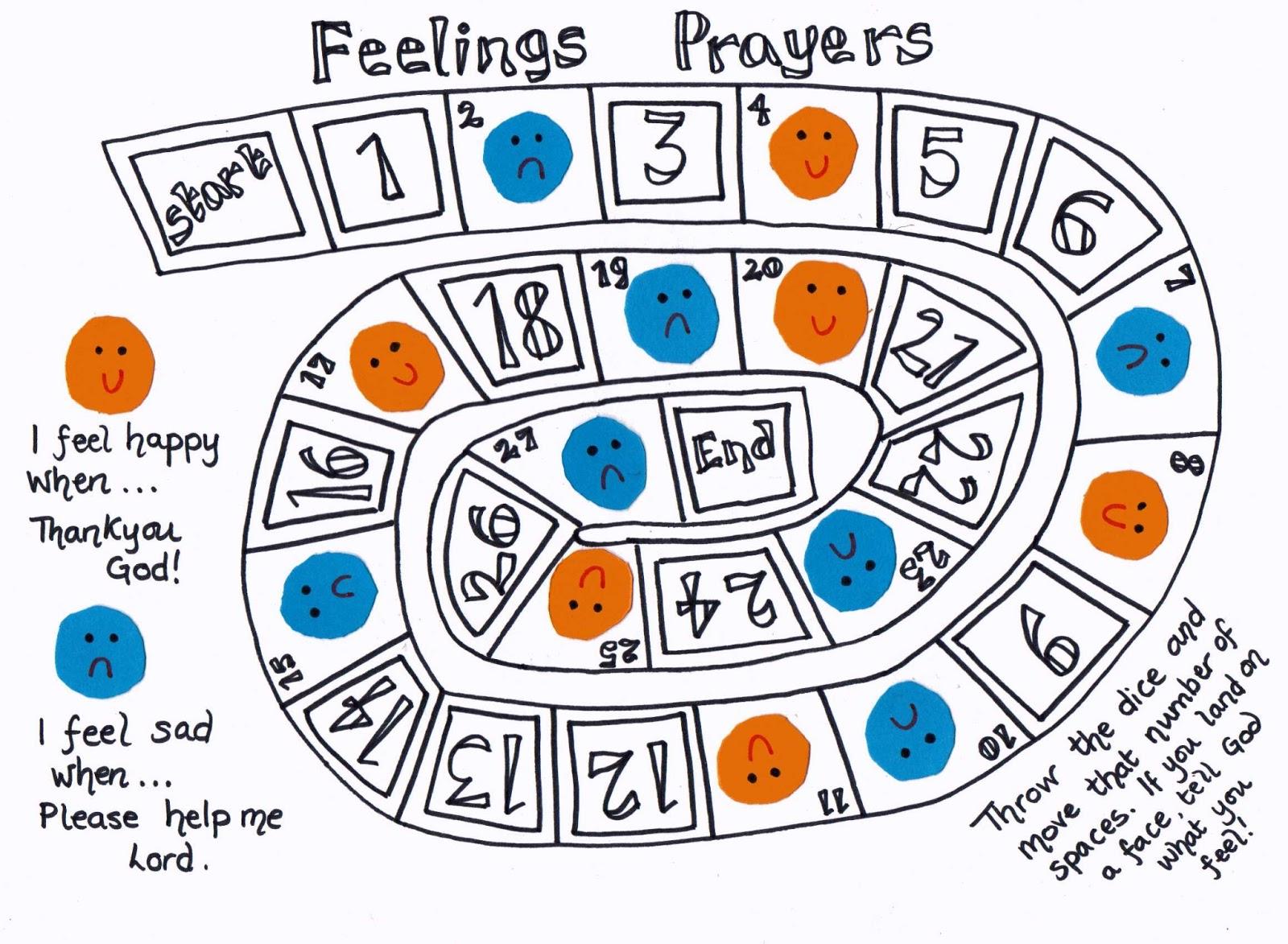 Flame Creative Children S Ministry Feelings Prayer Game