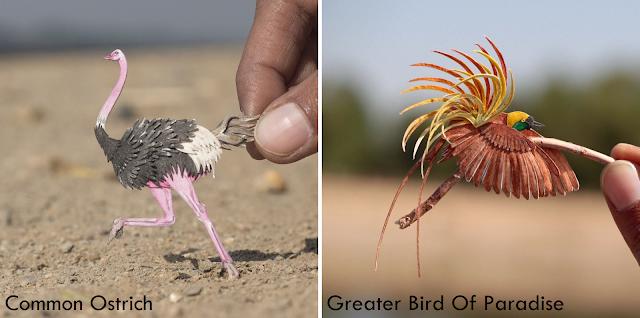 Vaishali dan Nayan _ Sahut cabaran 365 hari buat miniatur kertas berbentuk burung _ 01