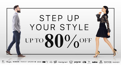 Step Up Your Style and Save Up To 80% Off
