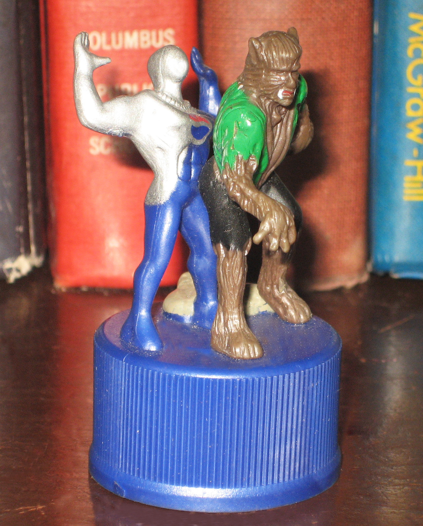 Percy's World Of Toys Series 2: 4122. Werewolf And Pepsi Man