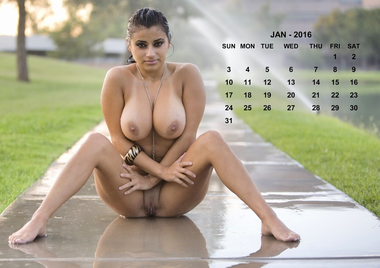 Photos calander girl nude