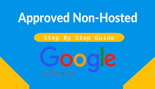 Approve Non-Hosted Adsense Account