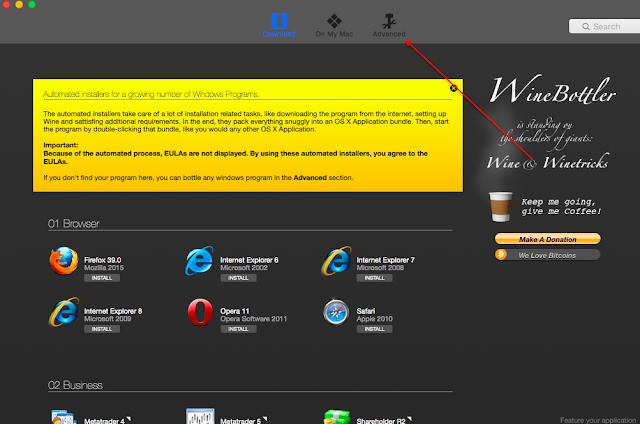 Cara Menjalankan Aplikasi Windows di MAC OS X