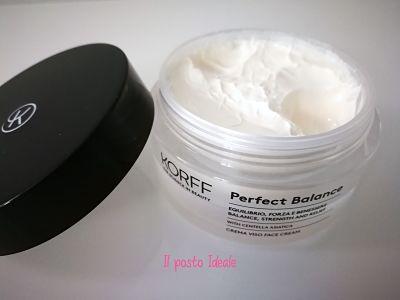 Korff Perfect Balance crema viso riequilibrante