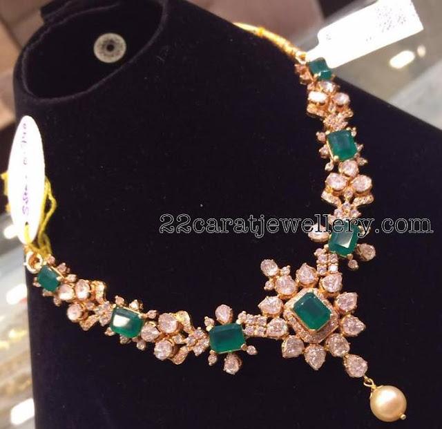 43 Grams Emerald Set