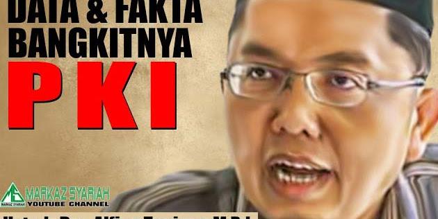 Ustad Alfian Tanjung Jaga Negara dari Ancaman Komunis, Kok Malah Ditangkap