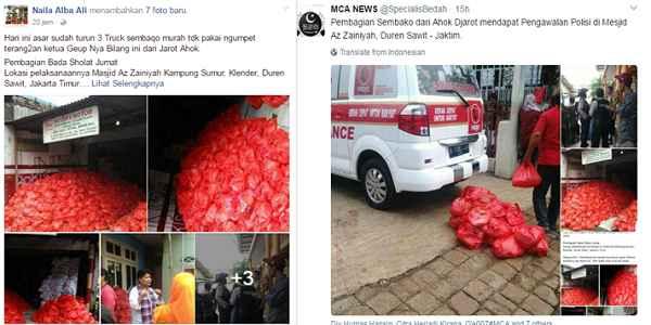 Ahok Sesumbar Berantas Korupsi, Nyatanya Pendukungnya Lakukan Praktik Korupsi Berkedok Sembako
