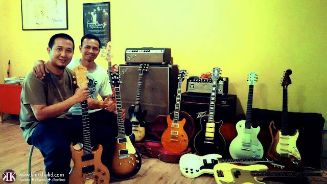 Khir Khalid, Guitar, Myself And Its Obsession,
