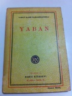 Yaban Yakup Kadri Karaosmanoğlu ikinci el kitap satın al