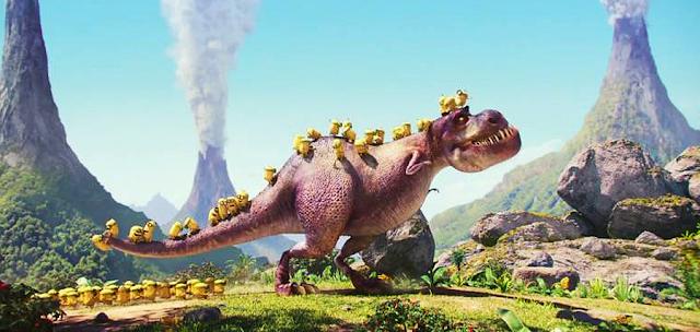 Minionii şi Dinozaurii