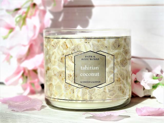 avis Tahitian Coconut de Bath & Body Works, bath & body works france, bath & body works tahitian coconut review