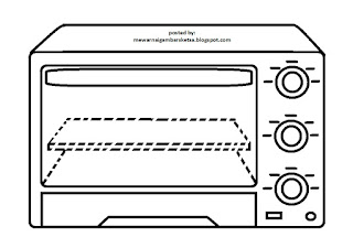 Gambar Mewarnai Gambar Sketsa Peralatan Dapur Contoh Di Rebanas