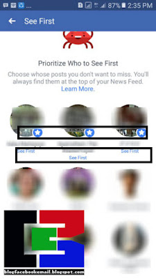 mereka punya ikatan besar lengan berkuasa dengan kita sehingga dalam segala aktifitas kita dihentikan ket Cara Memilih Siapa yang Muncul Terlebih Dahulu di Bagian Atas Beranda Facebook