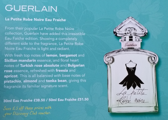 acd3c473fc6 Guerlain Le Petite Robe Noire Eau Fraiche The Fragrance Shop Discovery Club  Spring 2015