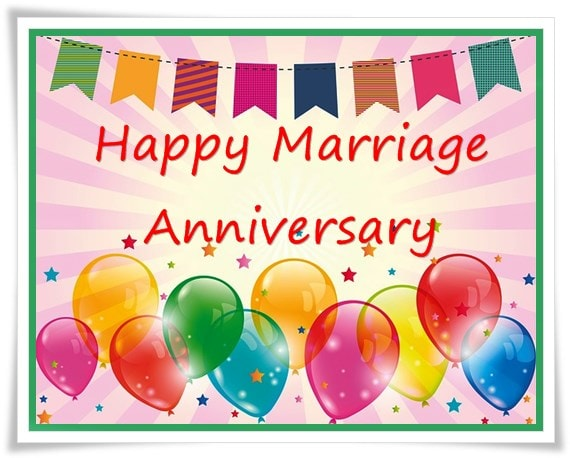 Best wedding Anniversary Photos, Images and Quotes - happy anniversary balloon images