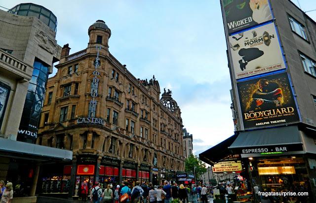 Londres, Cinemas na área de Leicester Square