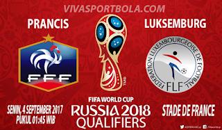 Prediksi Prancis vs Luksemburg 4 September 2017