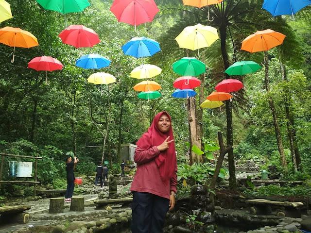 Tlogo putri kaliurang tempat asik menikmati liburan ahir tahun 2018