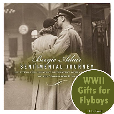 World War Two Gifts for Flyboys- a gift guide from In Our Pond #christmas #holidays #ww2 #flyboy #airplanes #mustang #spitfire #axisandallies