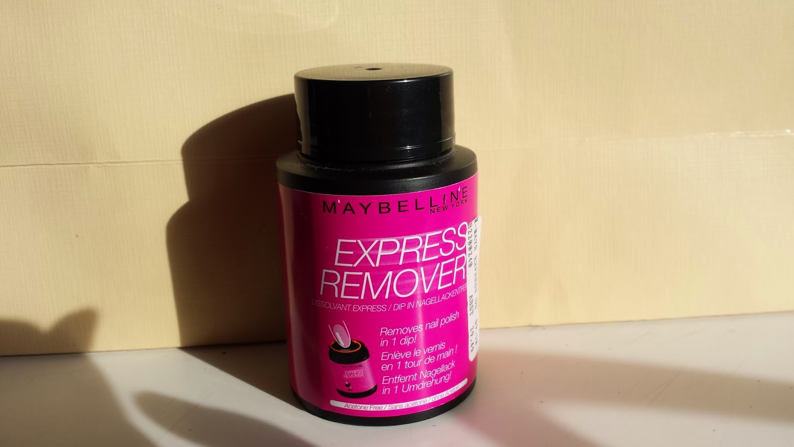 Maybelline New York Express Remover - www.modenmakeup.com