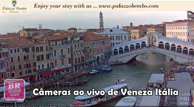Câmeras ao vivo de veneza na Italia