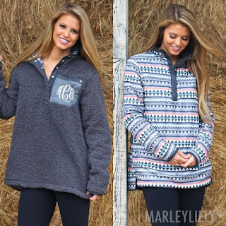 Reversible Sherpa Pullover