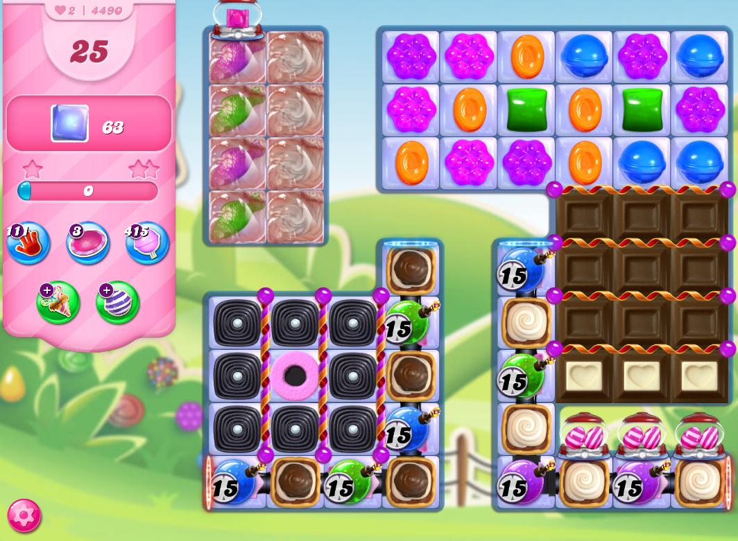 Candy Crush Saga level 4490