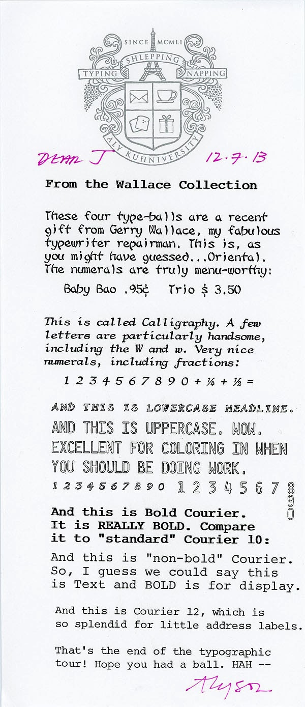 Letterology: Planet Type