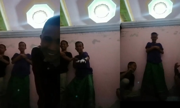 Viral, Video Bocah Permainkan Gerakan Shalat Diduga Terjadi di Bone