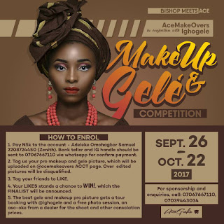 Makeup Gele Competition
