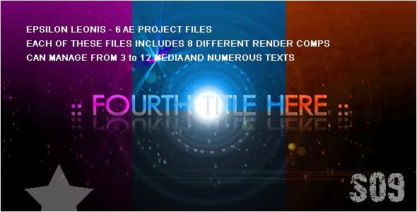 EPSILON LEONIS FULL HD Projects PACK