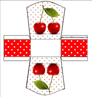 Guindas: Cajas para Imprimir Gratis.
