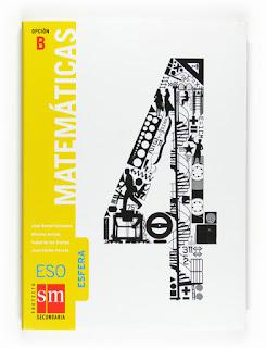 Libro Matemáticas 4º ESO SM Opción B Proyecto Esfera