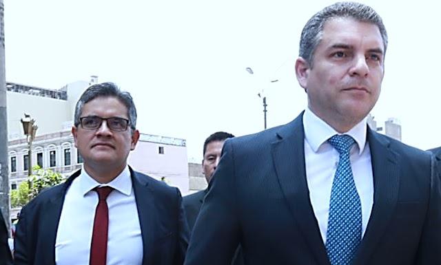 Chávarry retrocede y repone a Vela y Pérez en equipo que investiga a Odebrecht