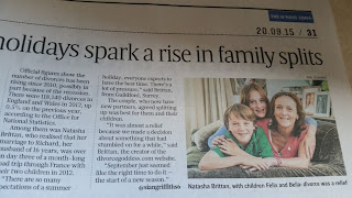 Thank you Sunday Times and My Divorce Mentoring Packages