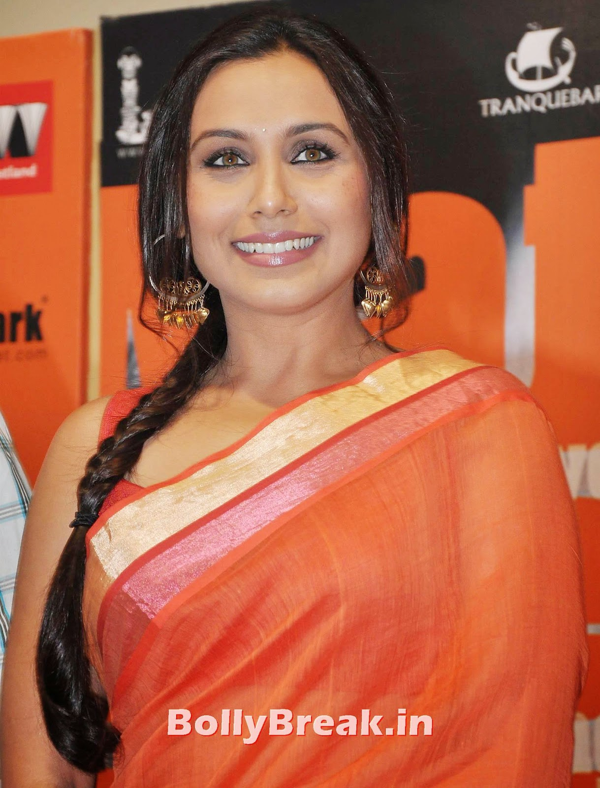 Rani Mukherjee Bengali Saree Hot Slike v visoki ločljivosti - 5 Slike-2875