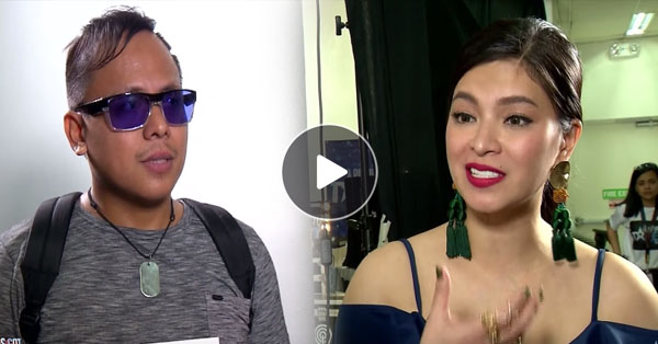 PGT EXCLUSIVES: Michael Aco Finally Met Angel Locsin At The Backstage!