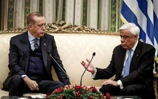 Στην παγίδα του Ερντογάν έπεσαν Παυλόπουλος, Τσίπρας και Κοτζιάς