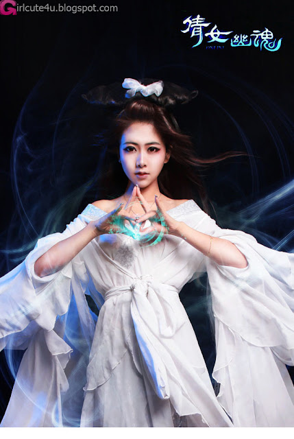 5 Zhao Sam - Ghost Story Nie Xiaoqian gentle wan and weak-Very cute asian girl - girlcute4u.blogspot.com