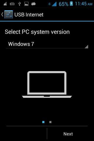 how to share your pc internet on android smartphone via usb cable