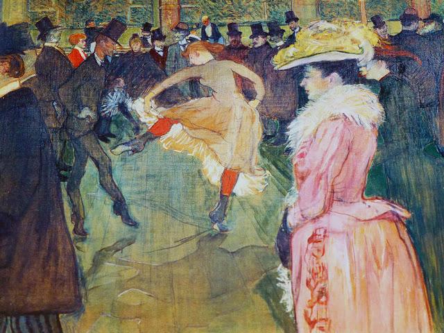 Baile en el Moulin Rouge del Philadelphia Museum of Art