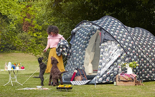 Olive and Orange by Orla Kiely Outdoor Leisure Collection for Halfords