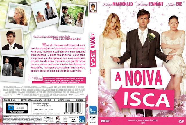 Capa DVD A Noiva Isca