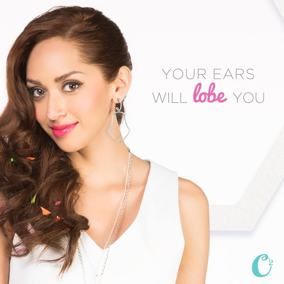 The Origami Owl Beata Earring Drops from StoriedCharms.com